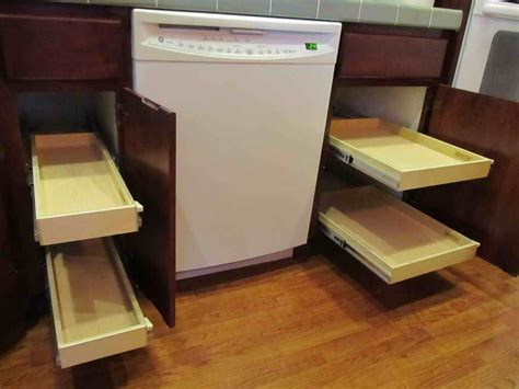 kitchen cabinet drawer rollers best drawer slides for kitchen cabinets replacement