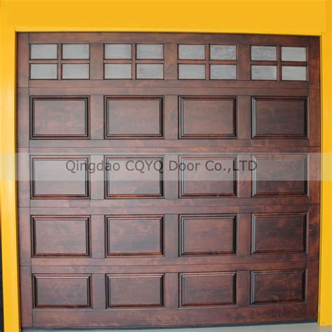 wooden sectional garage doors solid wood sectional garage door solid wood garage door