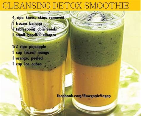 Smoothie Detox by Cleansing Detox Smoothie Juices Smoothies