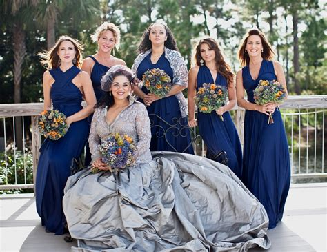 Bridesmaid Dress As Wedding Dress by Winter Wedding Blue Bridesmaid Dresses Naf Dresses