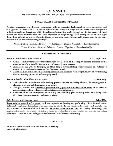 International Trade Specialist Sle Resume by Sle Resume For Marketing 28 Images Sle Resume For Digital Marketing Manager 57 Images 23 28