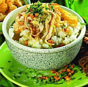resep bubur ayam sukabumi asli resep resep masakan asia