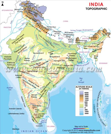 slope meaning in bengali topographic map of india