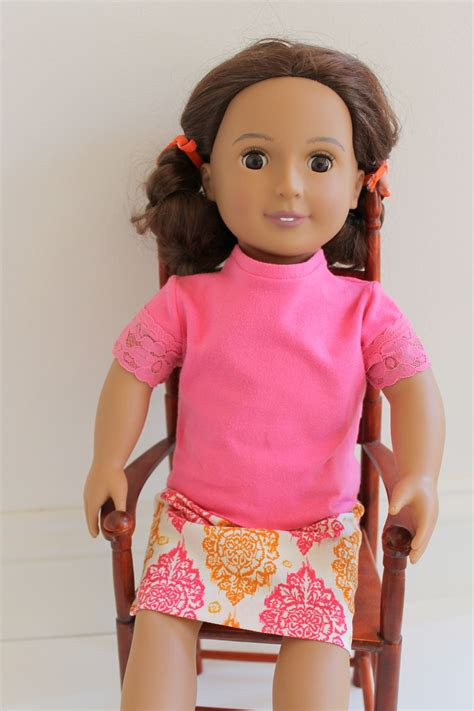 American Girl Doll Knit Shirt   AllFreeSewing.com