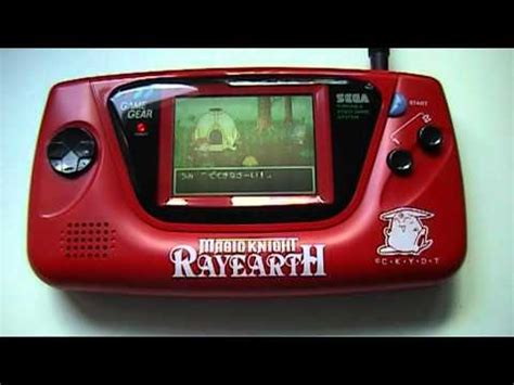 game gear tv out mod sega game gear rayearth 063 youtube