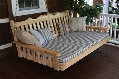 outdoor pallet bed swing everything about outdoor bed swing