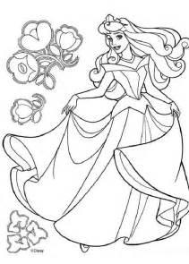 princess aurora dancing coloring pages hellokids