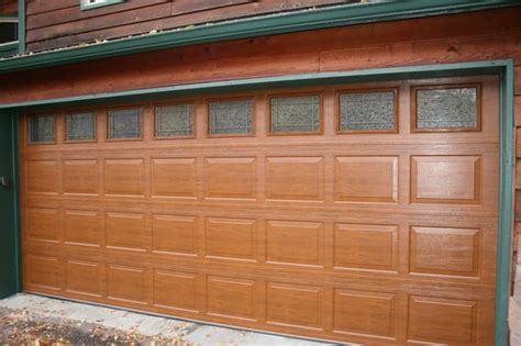 Elite Wood Look Steel Insulated Garage Door Yelp Wood Look Steel Garage Doors