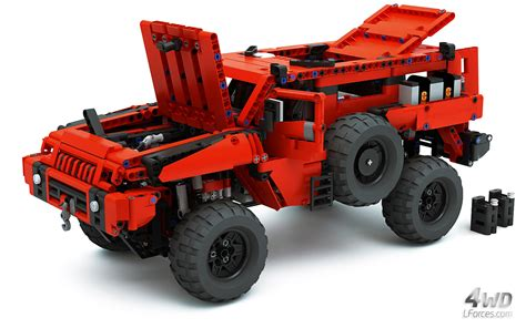 lego technic lego technic mrap marauder most advanced roader