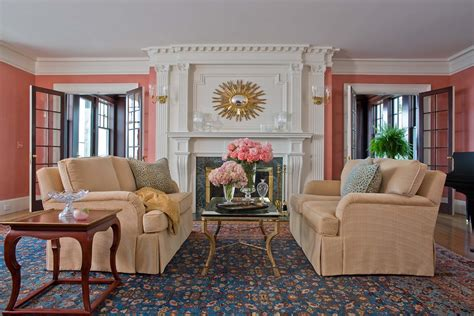 Coral Color Living Room by Baroque Coral Gables Furniture Technique Balcony Curved