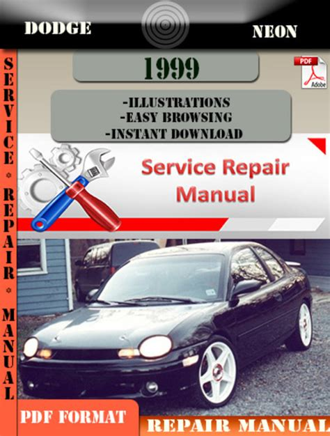 dodge neon 1999 factory service repair manual pdf zip download ma