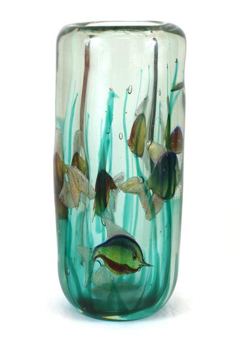 Light Base For Vases by Alfredo Barbini Aquarium Vase With Light Base Pauly And