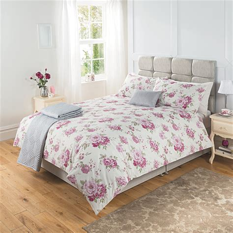 George Home Charlotte Floral Duvet Set Bedding Asda Direct Asda Bed Sets