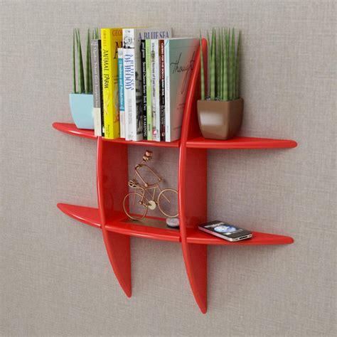 parete con mensole librerie e mensole moderne per arredare con pareti attrezzate