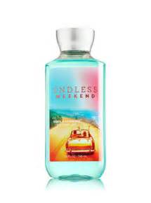 endless weekend shower gel signature collection bath bath and body works be joyful shower gel review