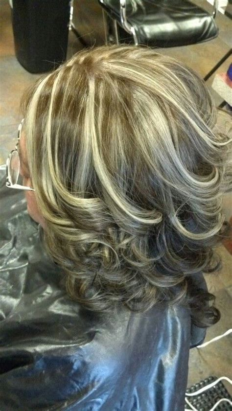 color highlights to blend gray into dark brown hair 8 best images about blending hair colors on pinterest