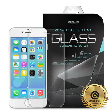 tempered glass iphone 6 plus 5 5 quot glass screen protector slim 0 33t 9h obliq ebay