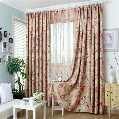 where to buy bedroom curtains aliexpress com buy new 2016 pastoral printed tulle