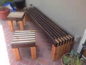 wooden benches diy 1000 images about outdoor furniture tutorials on