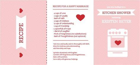 bridal shower recipe book wording top 7 bridal shower themes wedding ideas tips wordings