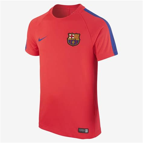 barcelona youth jersey nike fc barcelona 2016 17 youth dry top squad training