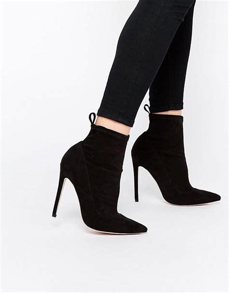 asos asos envision pointed sock boots