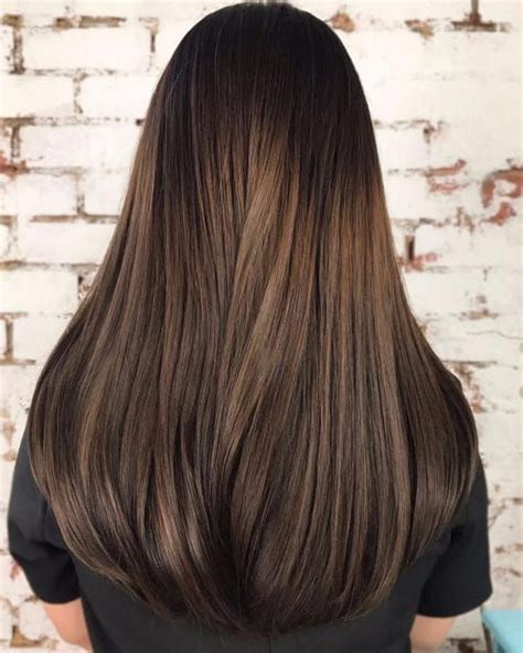 t section highlights for dark hair best 25 dark hair with highlights ideas only on pinterest