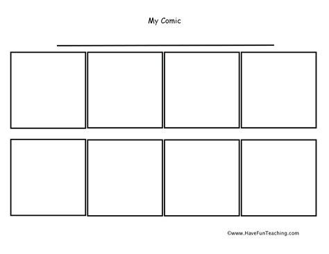 printable blank comic template for printable blank comic frames free template coloring