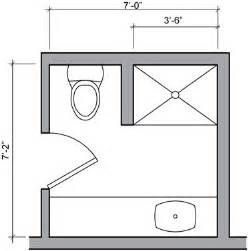 Small Bathroom Floorplan three quarter bath floor plan small bathroom pinterest