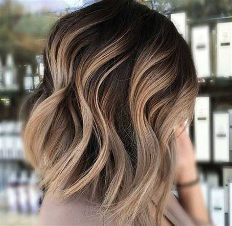 highlights for short brown hair 30 ideas about short brown hair with highlights short