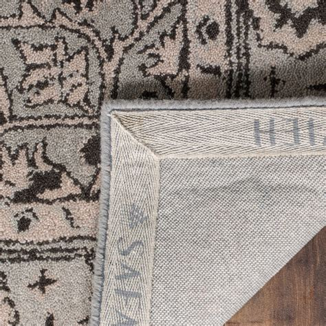 gray and beige rug safavieh antiquity collection grey and beige area rug 5x8 tufted wool save 30