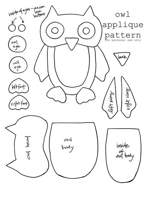 printable owl applique 225 best images about kids hooded towels appliqu 233 s on