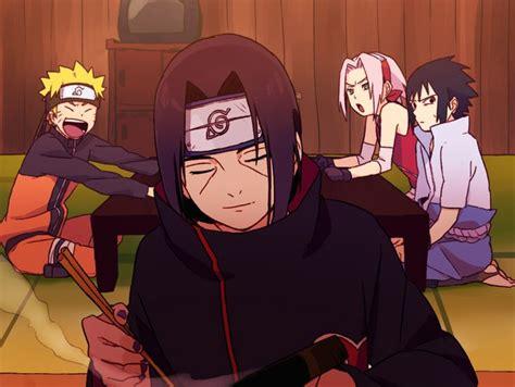 Japan Anime Shippuuden Uzumaki Uchiha Sasuke Acti tags haruno uzumaki uchiha sasuke uchiha itachi team 7 pixiv id