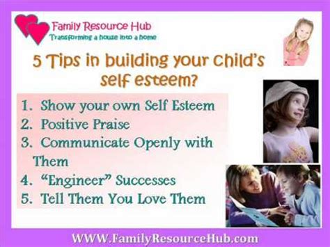 building your child s self esteem 9 secrets every parent needs to books 5 tips to build self esteem for
