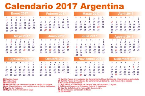 calendario escolar argentina 2017 2018 calendario de feriados administrativos y bancarios la