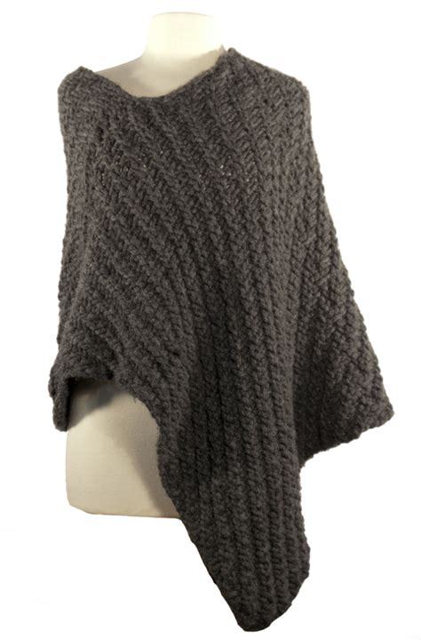easy knit poncho pattern easy wrap poncho knitting pattern instant pdf
