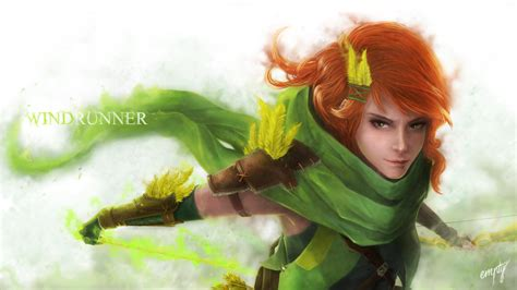dota 2 windrunner wallpaper hd lyralei windranger dota 2 1h wallpaper hd