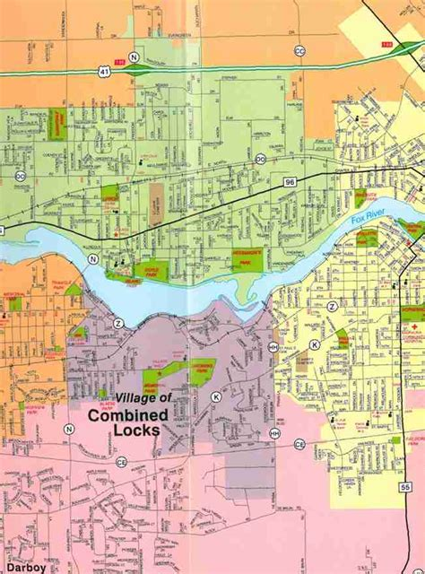 map of appleton wi themapstore appleton and the fox cities reference map