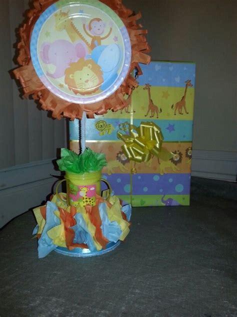 tissue paper centerpieces baby shower ez diy baby shower centerpieces paper plates tissue