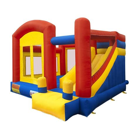 Jumpy Houses by Aleko Bounce House With Slide And Blower Bhpground Hd