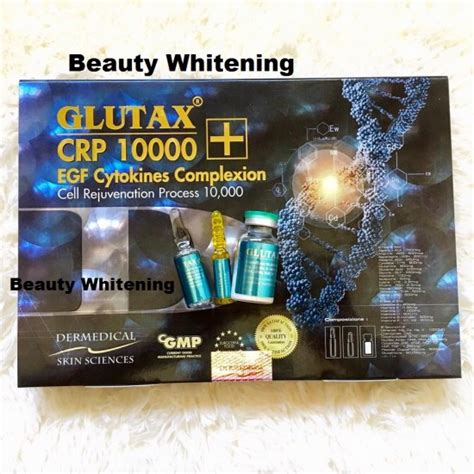 Glutax Crp 10000 glutax crp 10000 egf cytokines complexion great