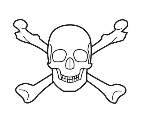 free coloring pages of bones free printable skull coloring pages for