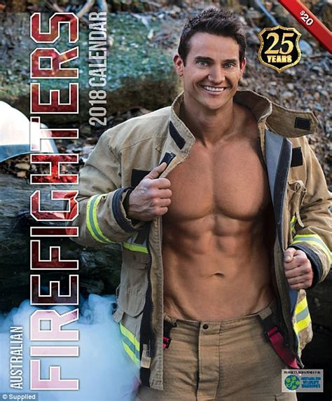 Firefighters Calendar Australian Firefighters Pose For 2018 Edition Of Calendar