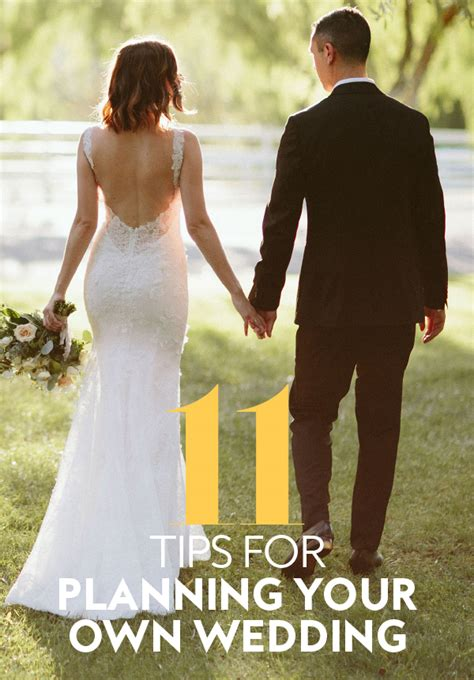 Planning Your Own Wedding by 11 Tips For Planning Your Own Wedding Instyle