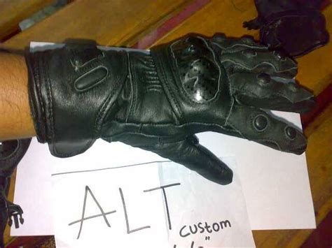 Sarung Tangan Kulit Domba Variasi Jahitan sarung tangan kulit bikers prtector 171 altworkshop