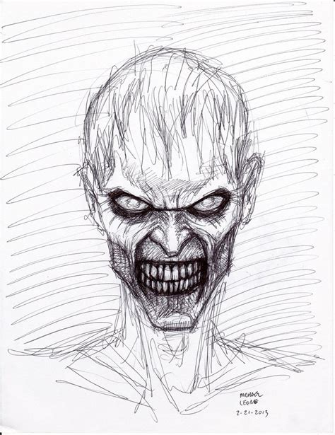 Drawing Zombies by Sketch 3 24 2013 By Myconius On Deviantart