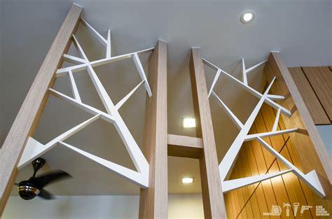 White And Brown Kitchen Cabinets Ara Hill Condominium Ara Damansara Kech Design