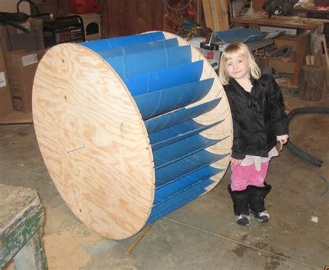 diy waterwheel generator