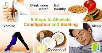 5 steps to alleviate constipation and bloating