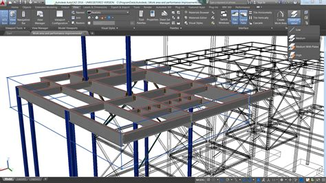 tutorial autocad structural detailing steel autodesk previews advance steel 2016 at nascc informed